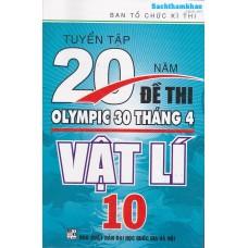 Tuyển Tập 20 Năm Đề Thi Olympic Vật Lí Lớp 10
