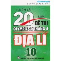 Tuyển Tập 20 Năm Đề Thi Olympic Địa lý Lớp 10