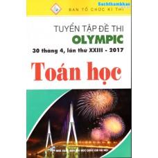 Tuyển Tập Đề Thi Olympic 30 Tháng 4 Lần Thứ XXIII - 2017 Toán Học