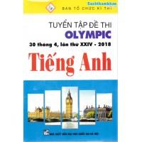 Tuyển Tập Đề Thi Olympic 30 Tháng 4 Lần Thứ XXIV - 2018 Tiếng Anh