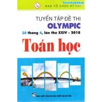 Tuyển Tập Đề Thi Olympic 30 Tháng 4 Lần Thứ XXIV - 2018 Toán học