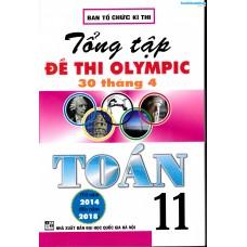 Tổng tập đề thi Olympic 30 tháng 4 Toán 11 (2014 - 2018)