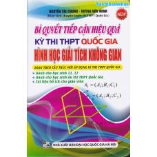 Bí quyết tiếp cận hiệu quả kì thi THPT-QG Hình học Giải tích Không gian