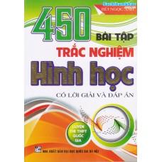 450 Bài tập trắc nghiệm Hình học